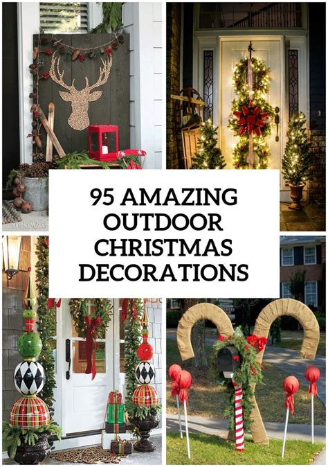 outdoor christmas ideas  pinterest outdoor