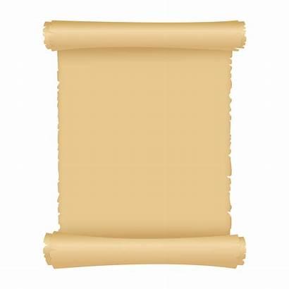 Paper Scroll Background Antique Parchment Magic Vector