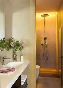 Sol Bois Salle De Bain : salle de bains douche italienne sol bois picslovin ~ Premium-room.com Idées de Décoration