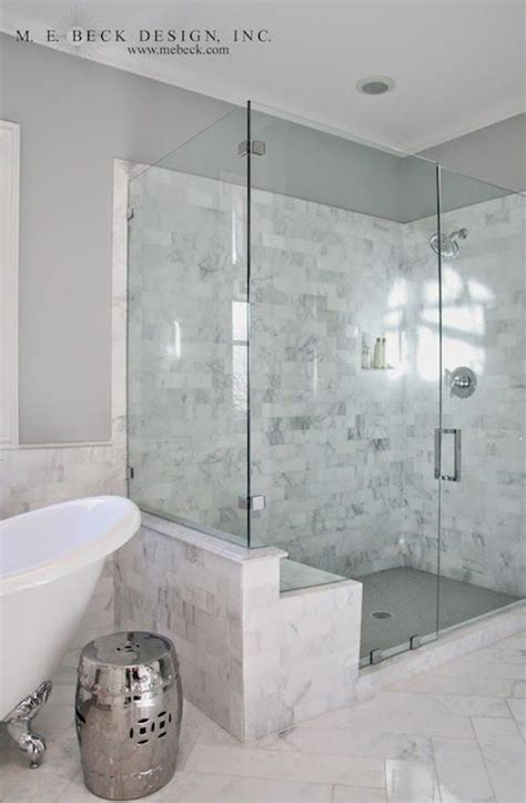 Best Way To Clean Marble Shower by Best 20 Carrara Marble Bathroom Ideas On