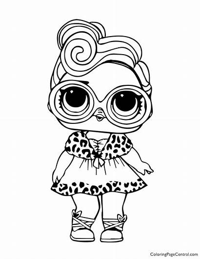 Lol Coloring Surprise Dollface Kitty Rocker Shopkin