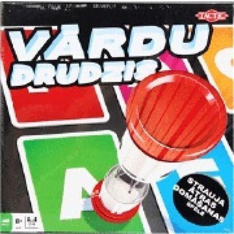 Tactic Galda spēle Vārdu Drudzis (LV), no 8 gadiem 5370 ...