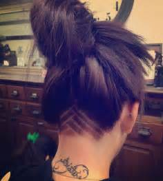 Triangle Nape Undercut Design Hairstyles