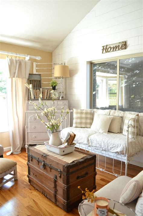 27 Rustic Farmhouse Living Room Decor Ideas For Your Home. Brass Outdoor Lighting. Barn Pendant Light. 9 Foot Dining Table. Framed Bathroom Mirrors. Teal Wallpaper. Traditions In Tile. Mosaic Bathroom Tile. Soaker Tub With Shower