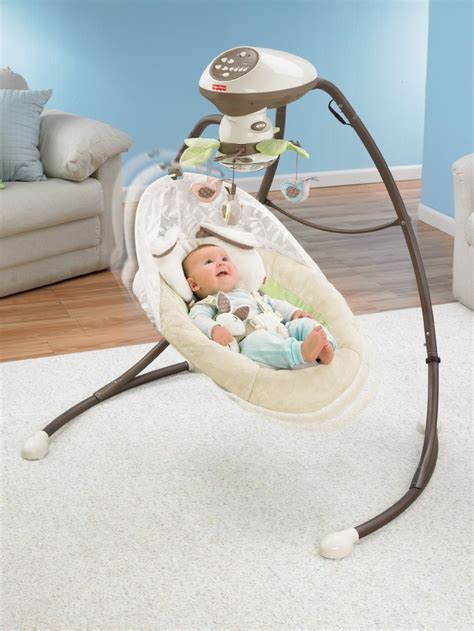 In Swing Baby by Best Portable Baby Boy Cradle Swings Chairs