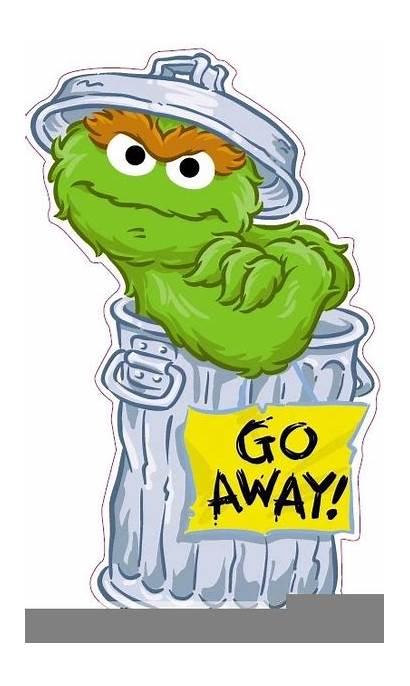 Grouch Sesame Street Oscar Characters Clipart Cartoon
