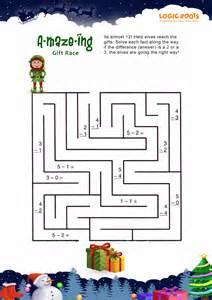 Christmas Math Worksheets Printable