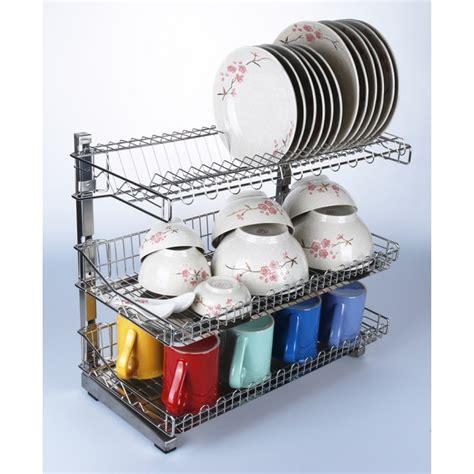 bigspoon  tier dish rack stainless steel kitchen dish rack dish drainer rack stainless steel
