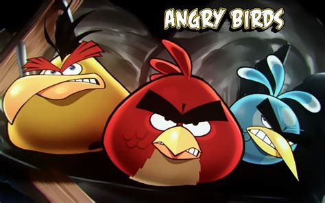 Angry Birds Picture Hd Wallpaper Animation Wallpapers Cute