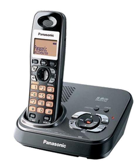 cordless phone panasonic 5 8ghz digital gigarange cordless phone with tam