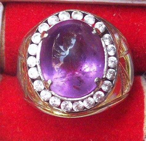 batu akik dan perhiasan batu kecubung