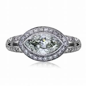 platinum 149 carat marquise cut engagement ring boca raton With marquise cut wedding rings