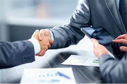Business Success Coaching Handshake