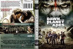 Dawn of the Planet of the Apes DVD Cover (2014) R1