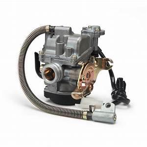 18mm Keihin Cvk Pd18j Carb Carburetor For 50cc 139qmb