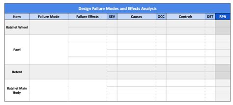 conduct  failure modes  effects analysis