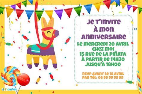 Cartes Et Invitations Anniversaire Gratuites