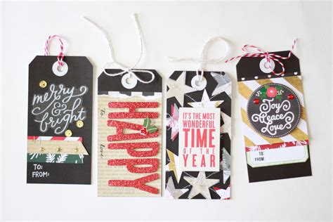diy gifts holiday gift tags me my big ideas
