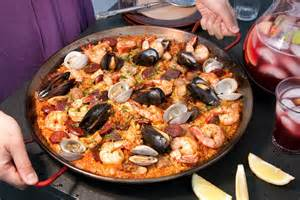 paella mixta paella with seafood and recipe chow
