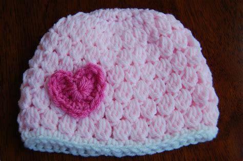 free crochet hat patterns free girl s crochet hat pattern with heart