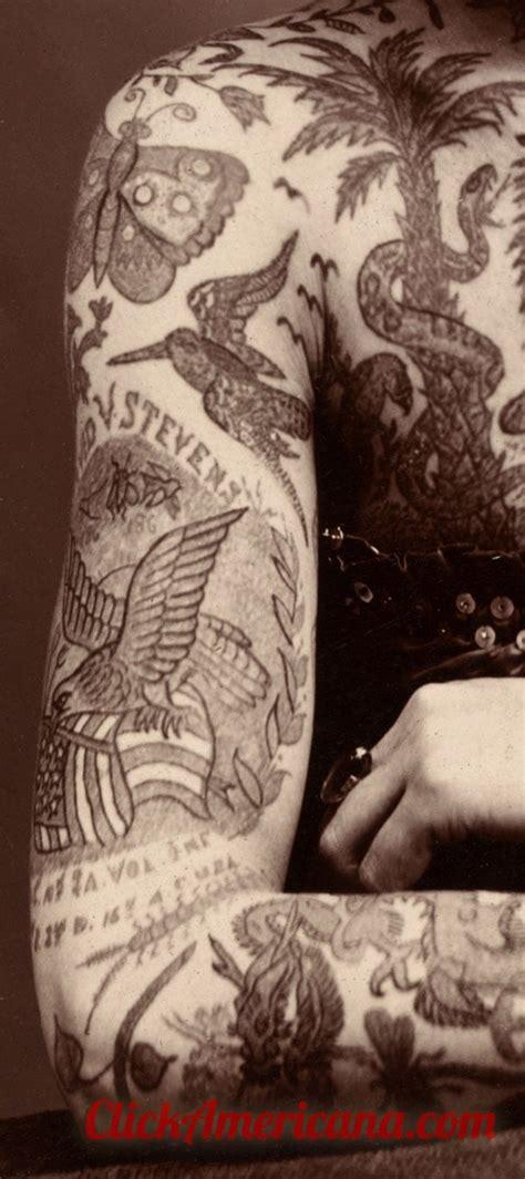 meet  tattooed lady  click americana