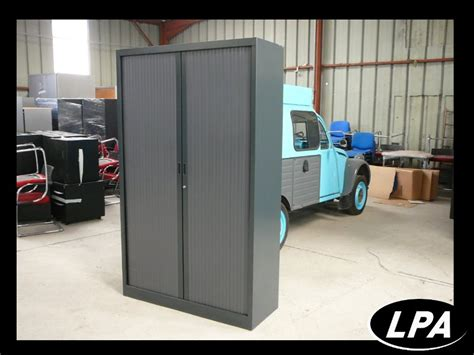 armoire bureau metallique armoire métallique arfeo d 39 occasion armoire haute