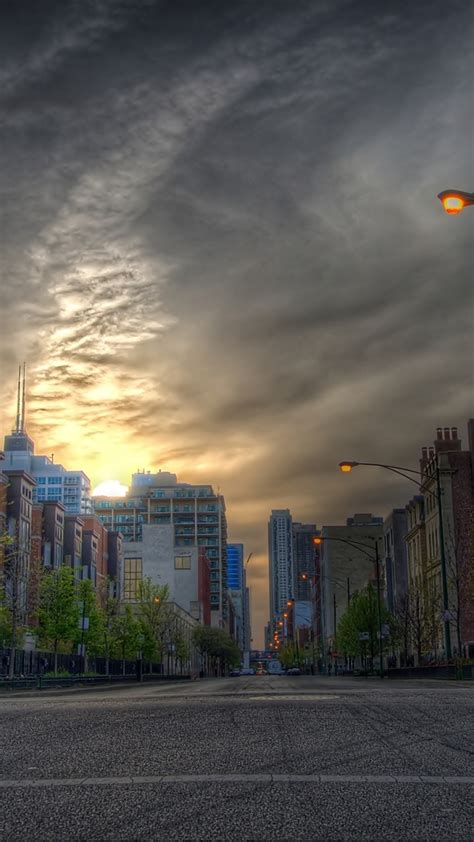 hdr cityscape galaxy  wallpaper