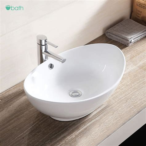 Bathroom Basin Sink by White Porcelain Ceramic Bathroom Sink Vessel Vanity Basin