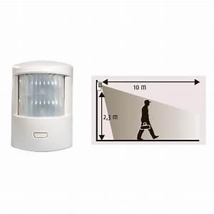 somfy 1875003 detecteur de mouvement alarme somfy achat With alarme maison detecteur de mouvement