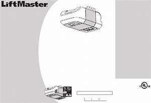 Liftmaster 8355  2 Hp Garage Door Opener Installation