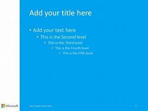 Microsoft Office Organizational Chart Template Microsoft Powerpoint Template Blue Presentationgo Com