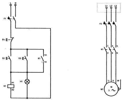 automatismos industriales m1i mando de un motor desde botonera marcha paro