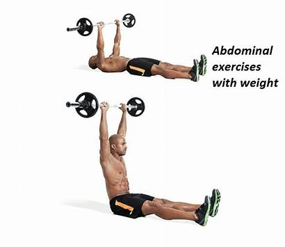 Exercises Abdominal Barbell Abs Workout Weight Leg