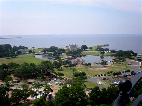 Looking out from Currituck Beach Lighthouse   The Outer ...