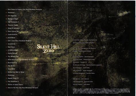 silent hill origins original soundtracks ost silent