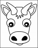 Cow Printable Letter Coloring Pages Paper Animal Homeschool Count Making sketch template