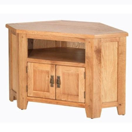 heritage furniture cherbourg oak corner tv cabinet