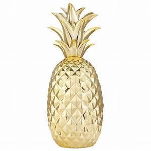 Ananas Maison Du Monde : d co ananas en c ramique dor e rio maisons du monde ~ Teatrodelosmanantiales.com Idées de Décoration