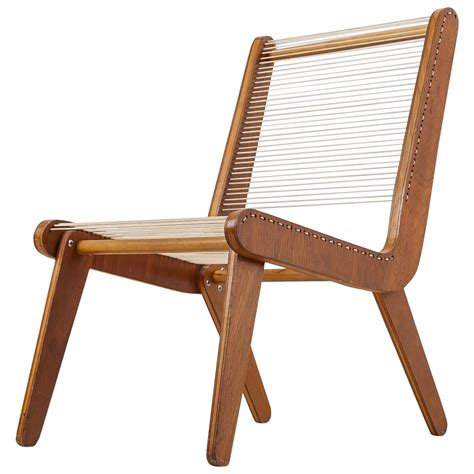 mid century american rope chair 1950s in the
