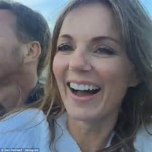 geri horner the sun geri halliwell changes her name after wedding to f1 boss