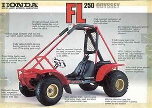 Honda Fl250 Odyssey 250 Atv 1976