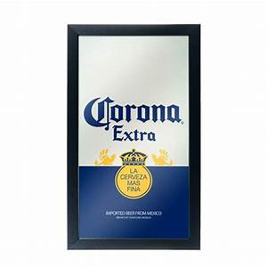 corona extra beer label bar mirror boozingearcom With corona beer label