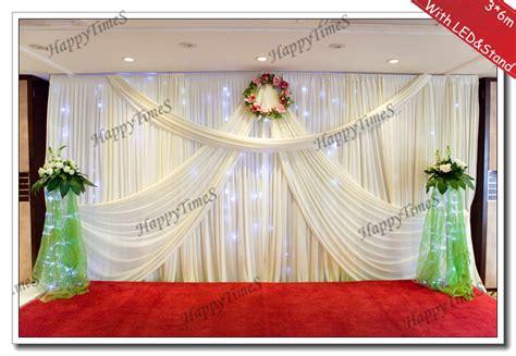 wedding background decoration curtain backdrop drapes