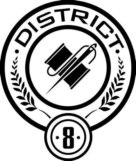 hunger district 8 district 8 seal by trebory6 on deviantart
