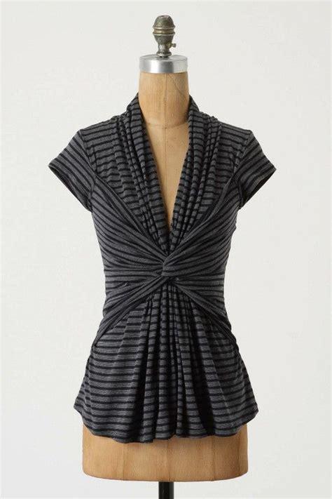 Draped Shirt Pattern - inspiration cool draped knit top vintage fashion