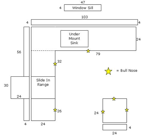 types of kitchen flooring kitchen bath countertop layout estimate artistic