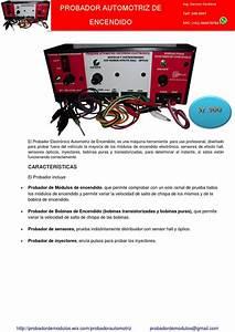 Probador Electronico Automotriz By Probador Electronico