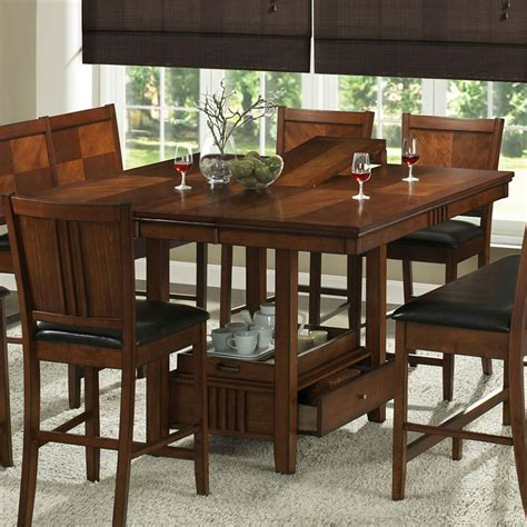 kitchen table with storage home decor amusing kitchen table with storage underneath 6227