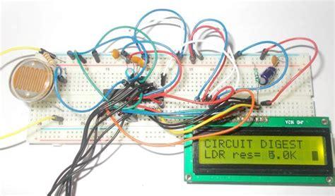 Light Intensity Measurement Using Ldr Atmega