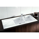 Blanco Idessa 8S Ceramic Double Bowl Sink Crystal White